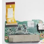 Dell L401x 14 USB Mic Audio Sound Card & Cable Board