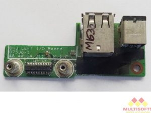 Dell M1530 Laptop DC Jack USB Board