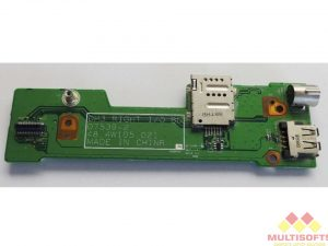 Used Dell M1530 USB Port S Video Board