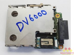 Used HP Dv6000 Series PCMCIA Card Cage Board