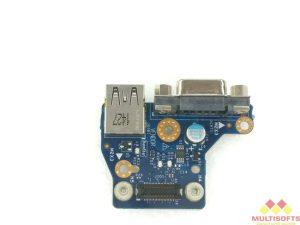 Used Dell E6440 VGA USB Daughterboard