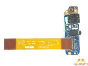 Used Dell E7450 Power Button Audio USB Board