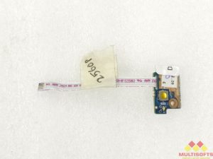 Used HP 2560P Power Button Board